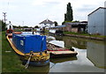 SP9319 : Narrowboats moored at Horton Wharf by Mat Fascione
