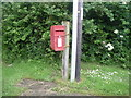 SJ8178 : Elizabeth II postbox, Lindow End by JThomas
