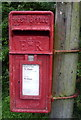 SJ8178 : Close up, Elizabeth II postbox, Lindow End by JThomas