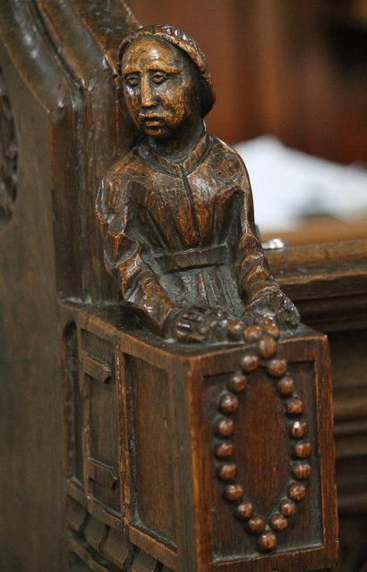 Wooden carving ss peter paul church j hannan