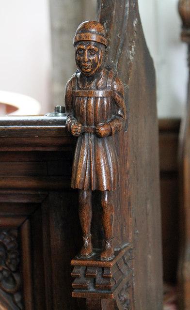 Pedlar of swaffham carving ss peter j hannan