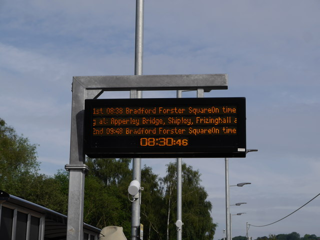 The first train will be at Kirkstall Forge soon