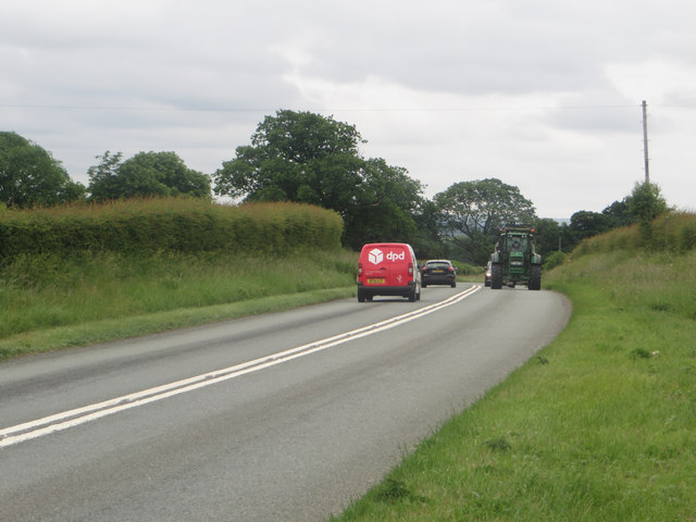 The A595 north of Cockermouth