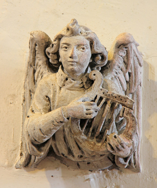 St Lawrence, Abbots Langley - Corbel