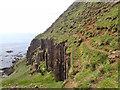 NM4918 : Path to Carsaig Arches by Mick Garratt