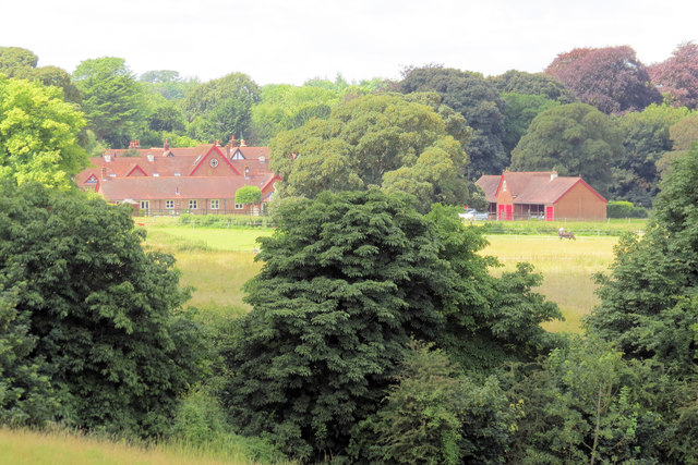 Looking towards Home Farm, Tring
