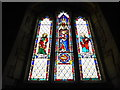 TF0907 : St Lawrence, Tallington: stained glass window (B) by Basher Eyre