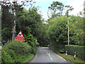 SJ8676 : Changed Priorities Sign, Prestbury Road by Gary Rogers