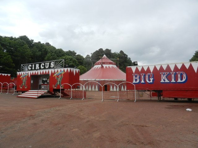 The circus has arrived at Oban