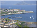 NS2577 : Gourock from Lyle Hill by Thomas Nugent