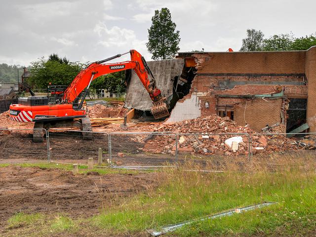 Radcliffe Civic Suite Demolition - July 2016  (2)