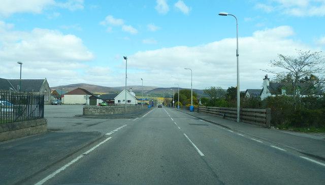 A9 passing through Brora
