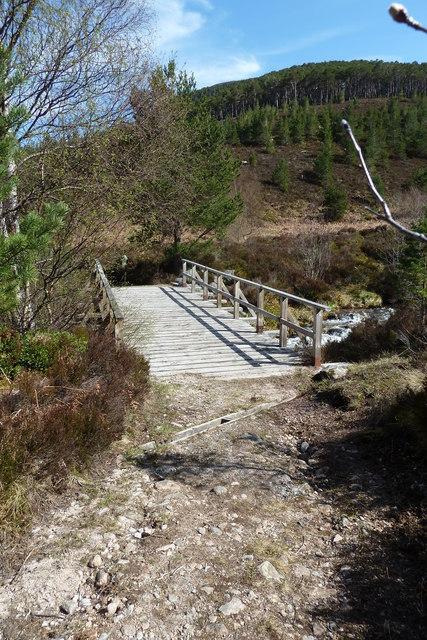 Allt Ruadh footbridge