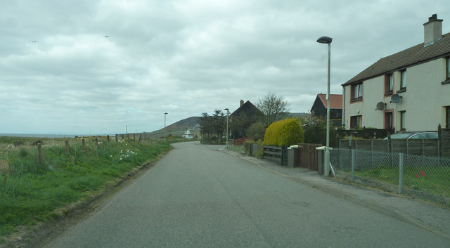 Simpson Crescent, Helmsdale