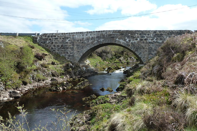 Forsinain Bridge over the River Halladale