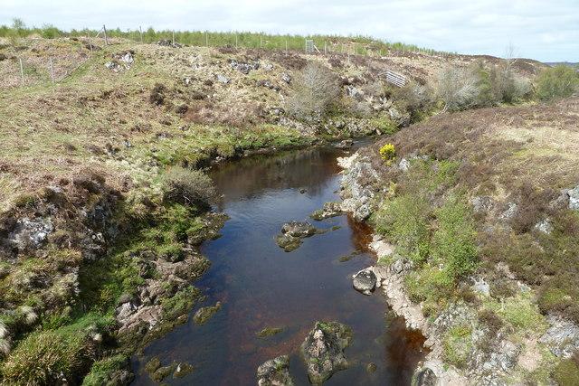 Halladale River from Forsinain Bridge
