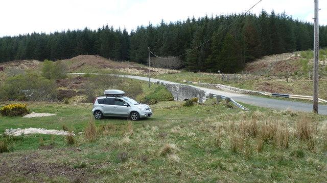 Forsinain Bridge and the A897