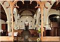 TL5770 : St Laurence, Wicken - West end by John Salmon
