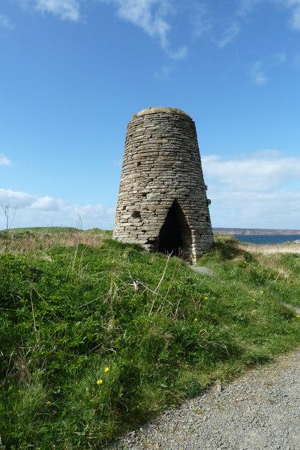 Windmill ruin at Castlehill