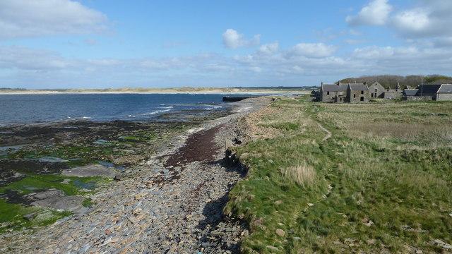 Castlehill coastline