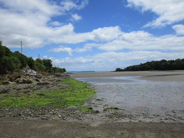 The estuary at Ringabella