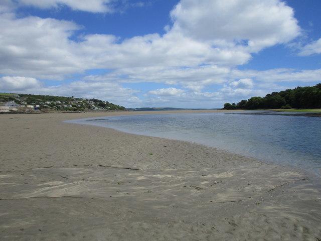 The estuary at Ringabella