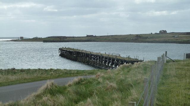 Pier at Lyness