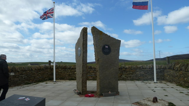 Arctic Convoy Memorial at Lyness