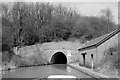 SP7350 : Blisworth Tunnel, south end, 1962 by Robin Webster