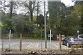 SX1064 : Car park, Bodmin Parkway Station by N Chadwick