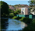 NT0872 : Houses next to the Union Canal in Broxburn by Mat Fascione