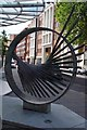 TQ2782 : Sculpture on Harewood Ave by Glyn Baker