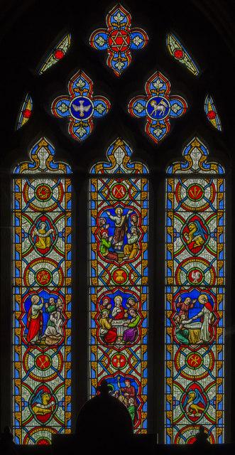 East window st hybald 39 s church ashby julian p for Ashby windows