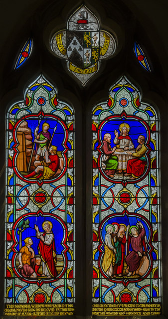 Stained Glass Window St Hybald 39 S Julian P Guffogg Cc
