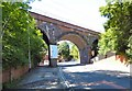 SJ9694 : Godley Arches by Gerald England