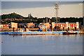 SU4307 : Hythe Marine Park Pier by David Dixon