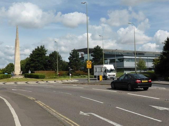 Roundabout on Garsington Road, Oxford