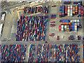 SU3812 : Container Terminal, Southampton Docks by David Dixon