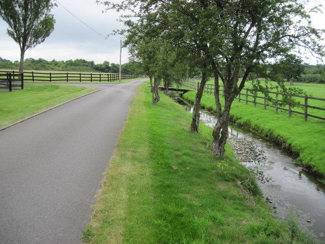 Driveway near Kiln House