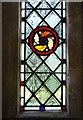 SP8206 : Window detail, All Saints', Little Kimble by Stefan Czapski