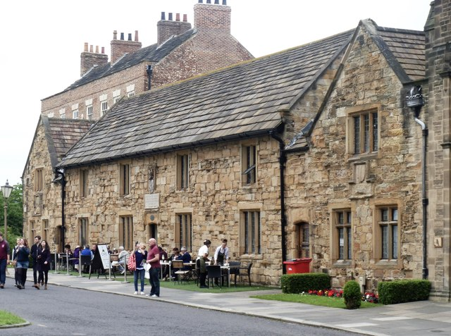 Cosin's Almshouses, Palace Green, Durham