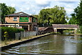 SP3365 : The Fusilier public house by the Grand Union Canal by David Martin
