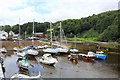 SC4483 : Laxey harbour (2) by Richard Hoare