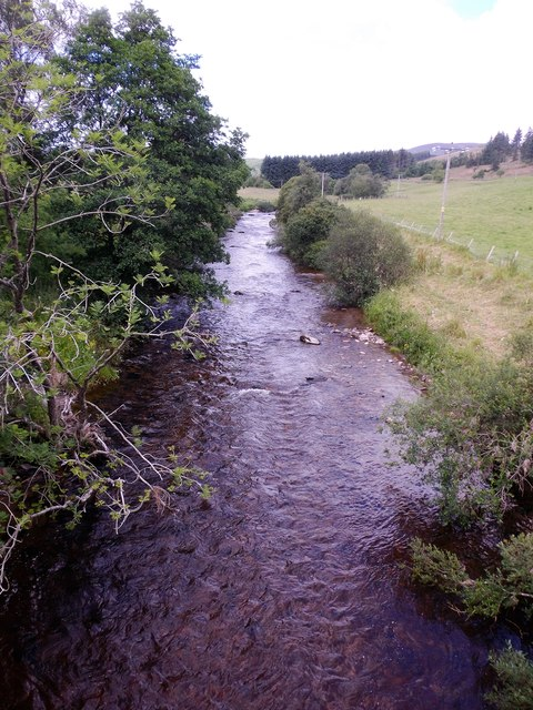 Upstream River Isla