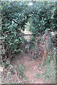 SP6728 : Stile on the footpath to the Gawcott Road by Philip Jeffrey