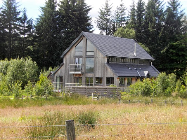 A new timber-framed house