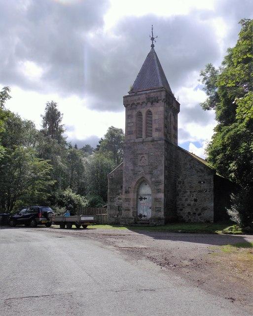Church building at Cray (B951)