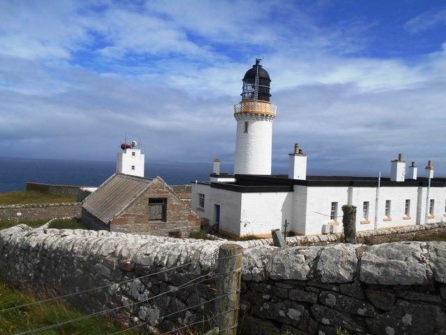 Dunnet Head Lighthouse & Foghorn