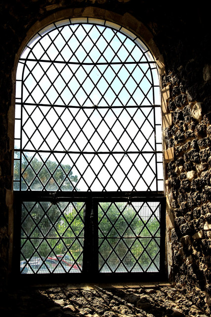 West window in St Andrew's Church