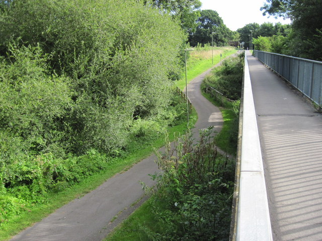 'The Gillies' footpath and cycletrack